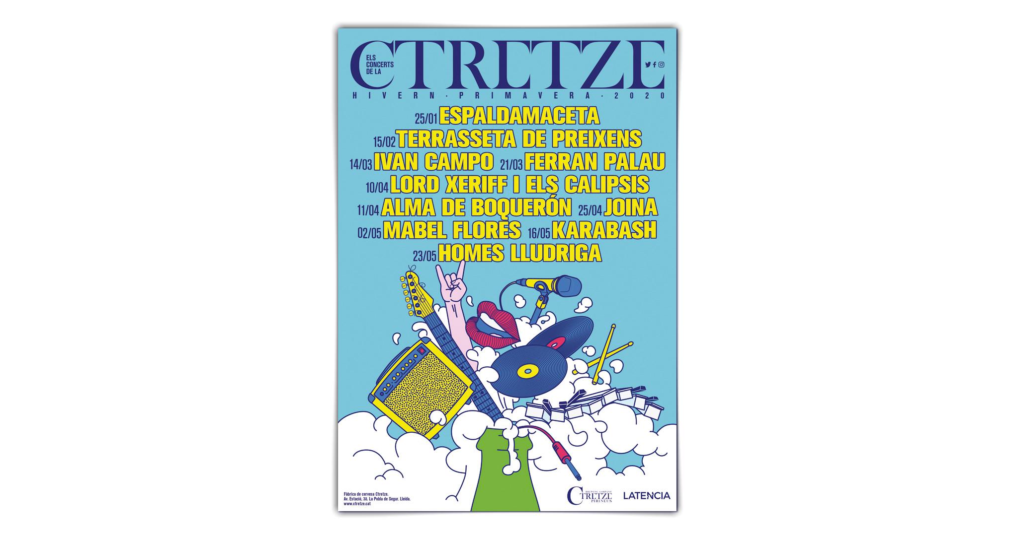Poster Festival Ctretze