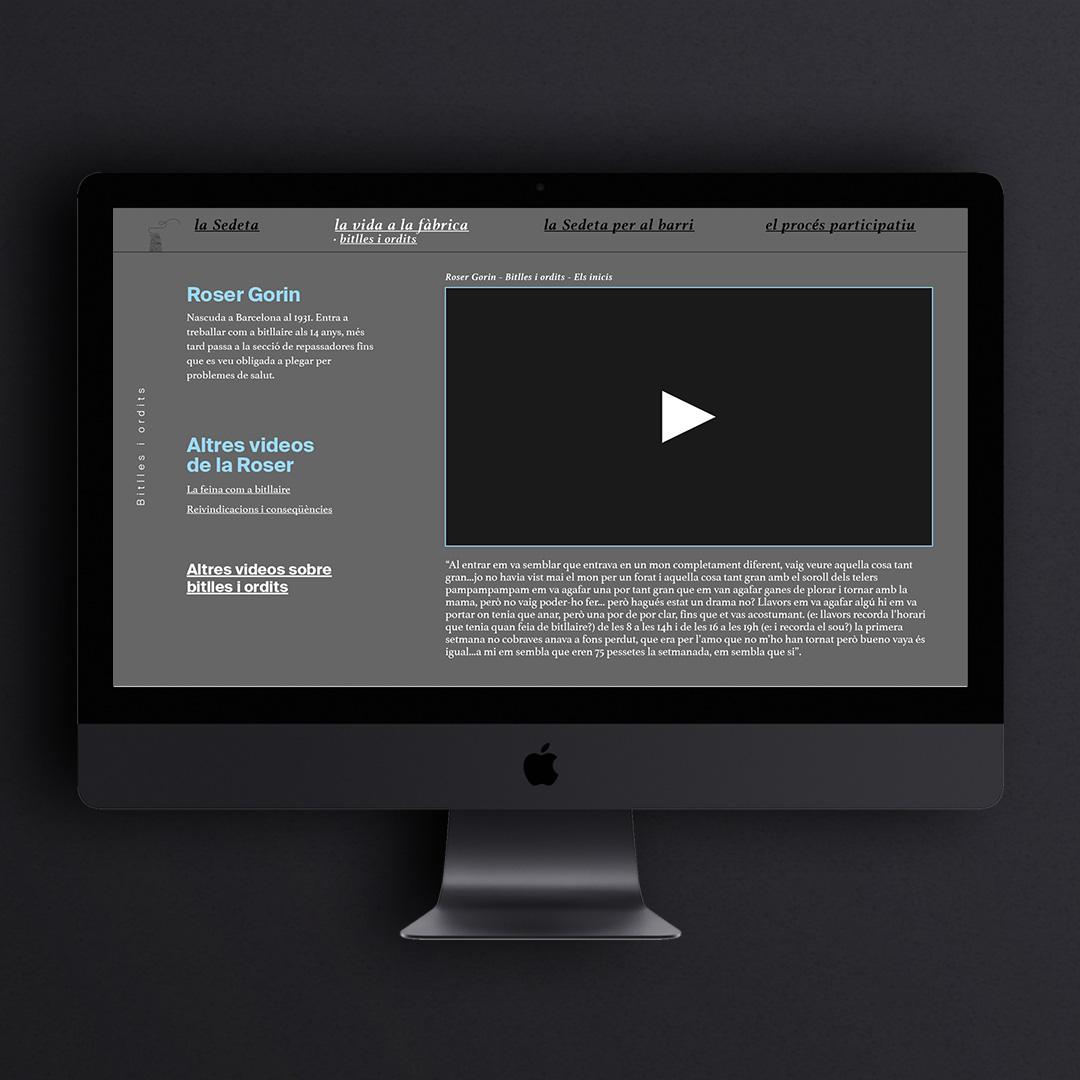 El webdoc de la Sedeta