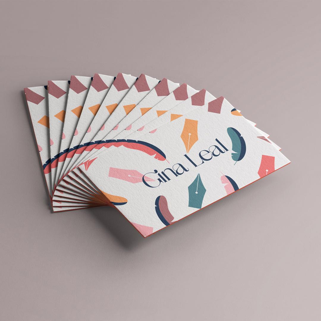 Gina Leal tarjetas