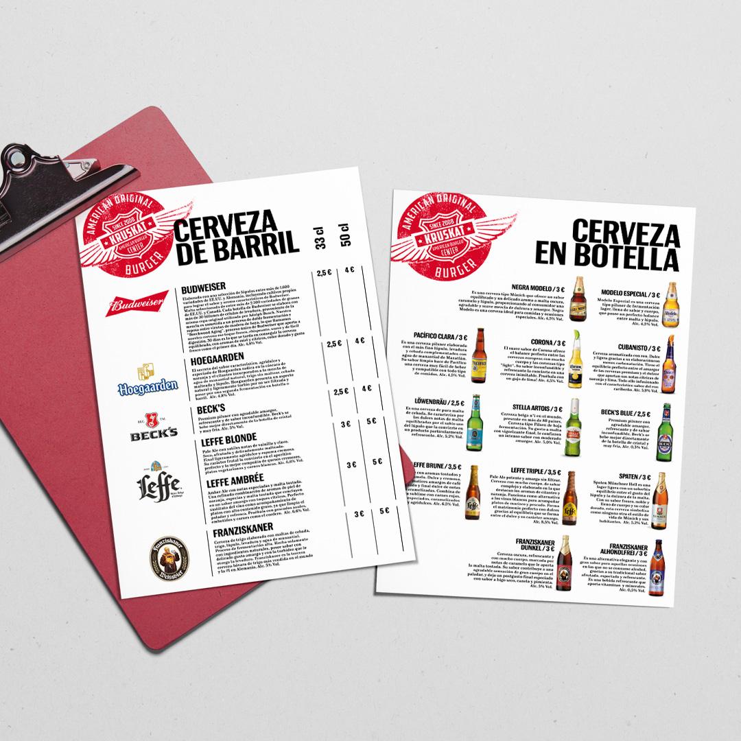 Clipboard menu design