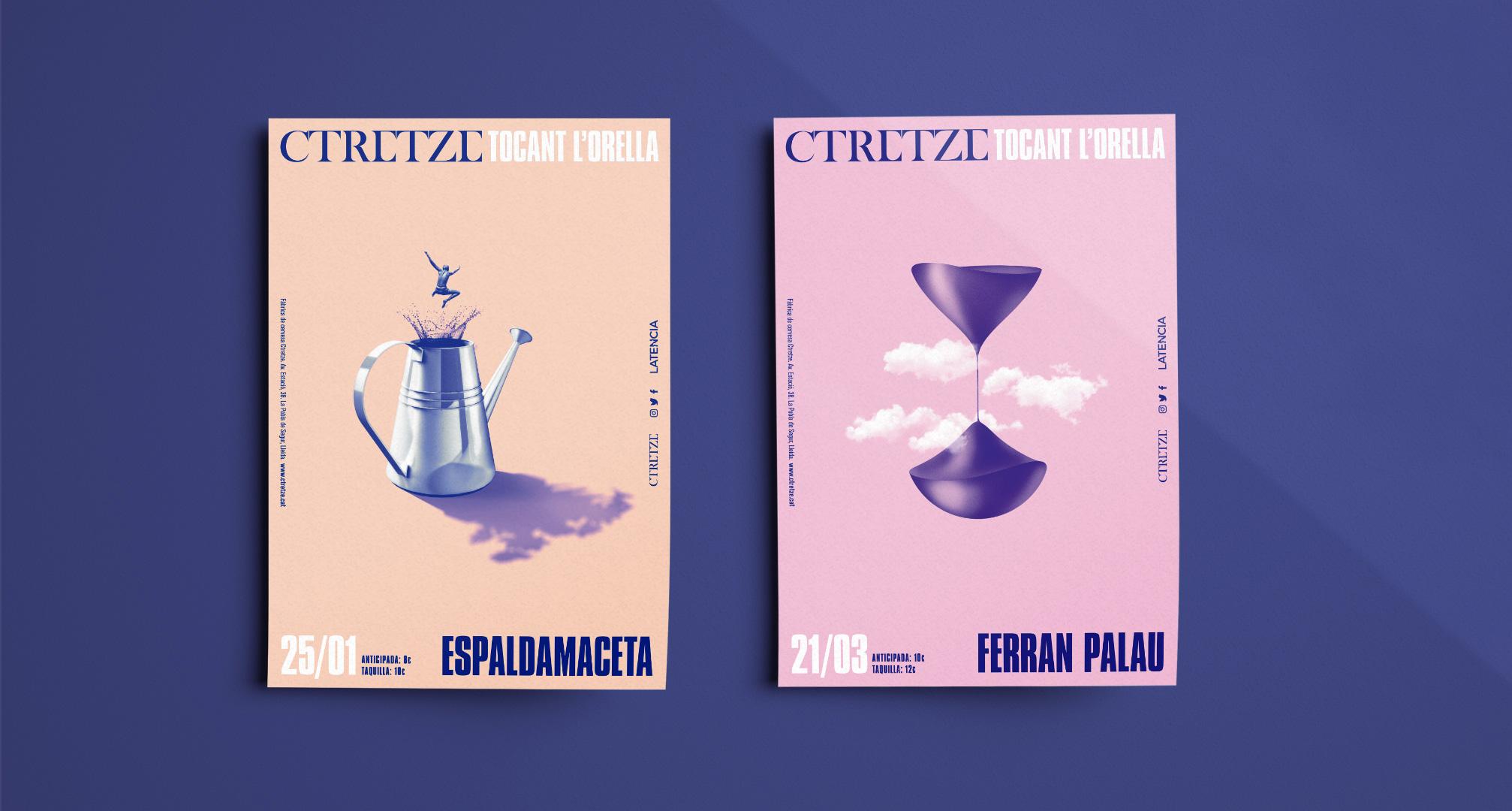 Poster Tocant l'Orella