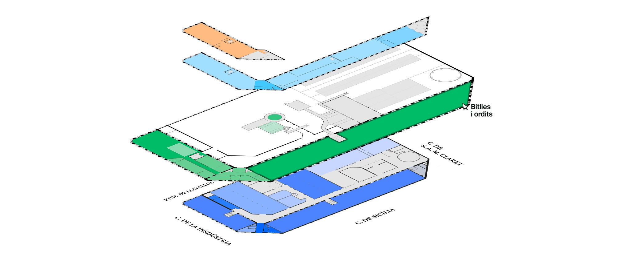 La Sedeta plantas fábrica